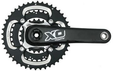 SRAM Truvativ X0 GXP 3x10 Speed Carbon image