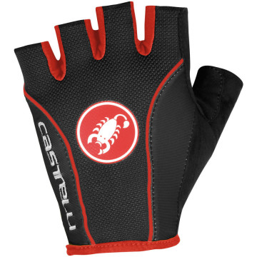 Castelli Free Glove – Black/Red image