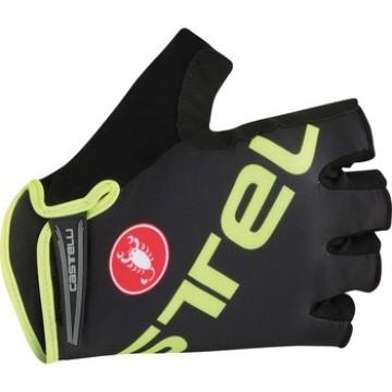 Castelli Tempo V Glove Black/Yellow Fluo image