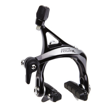 SRAM RIVAL 22 BRAKESET RIM FRONT AND REAR BLACK image
