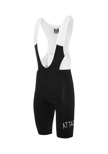 ATTAQUER ALL DAY BIB SHORT BLACK /  WHITE  LOGO image