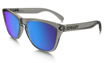 OAKLEY - Frogskins® Polished Clear with Sapphire Iridium Lenses image