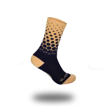 BLACK SHEEP TEAM COLLECTION HALFTONE PEACH SOCK image