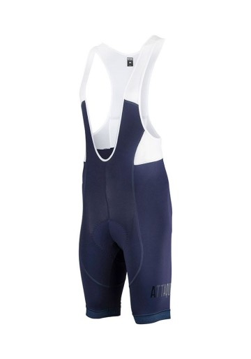 ATTAQUER BIB SHORT ALL DAY NAVY CLEAR LOGO image