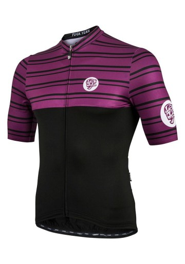 ATTAQUER JERSEY ALL DAY DOUBLE STRIPE PLUM image