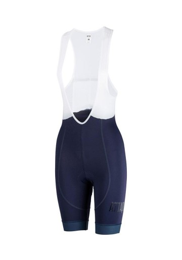 ATTAQUER BIB SHORT WOMENS ALL DAY NAVY CLEAR LOGO image