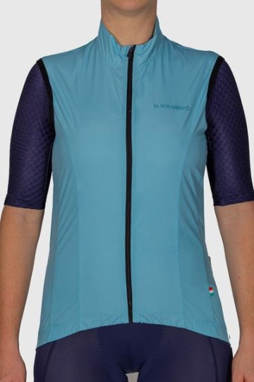BLACK SHEEP COLLECTION WOMENS MALTED MINT WIND VEST image