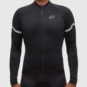 MAAP SEGMENT WINTER PRO BASE LS JERSEY BLACK image