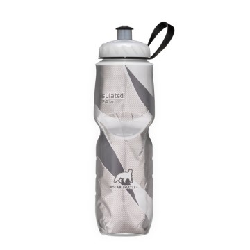 POLAR BOTTLE INSULATED BOTTLE PATTERN BLACK 20 OZ image