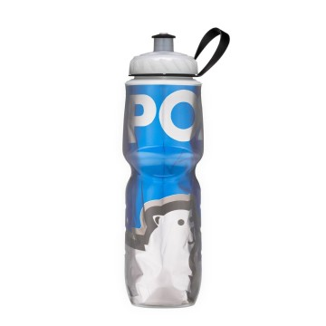 POLAR BOTTLE INSULATED BOTTLE GRAPHIC BIG BEAR BLUE 20 OZ image
