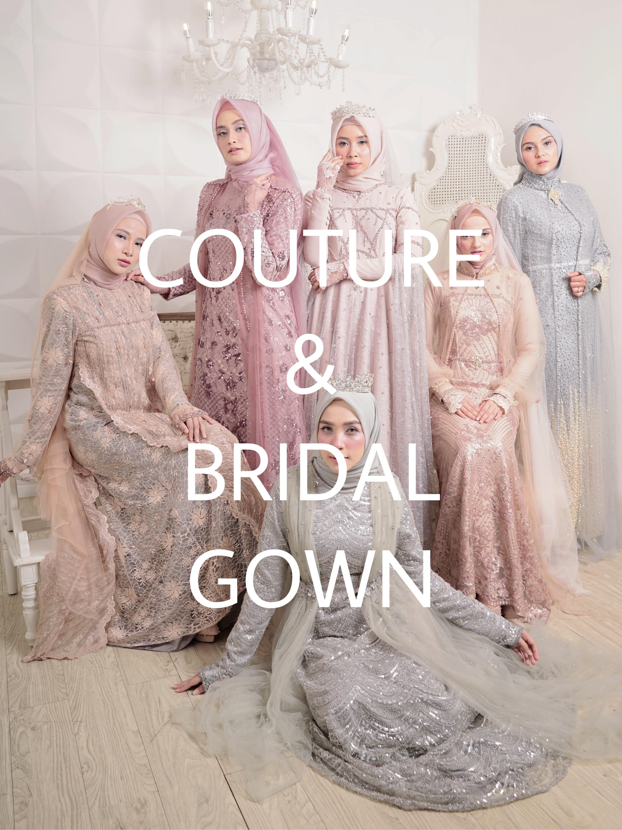 couture and bridal gown