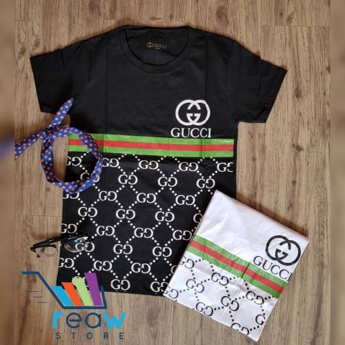 1bd34eda858 ... Kaos   Tumblr Tee   T-Shirt Wanita   Cewek Gucci Jaring · PrevNext.  large image