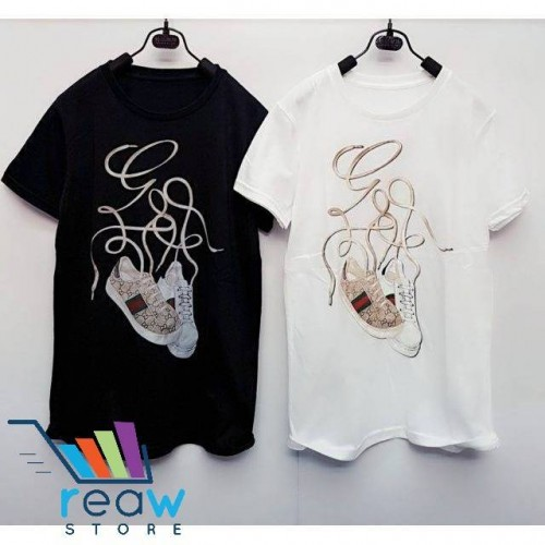9726968c280 ... Kaos   Tumblr Tee   T-Shirt Wanita   Cewek Gucci Sepatu · PrevNext.  large image
