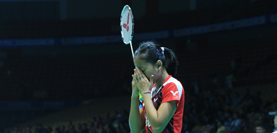 Masuk Babak Utama Asia Badminton Championships, Fitriani Langsung Jumpa Saina