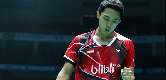 Tommy dan Jonatan ke Babak 2 Asia Badminton Championship, Ihsan Kalah Tipis dari Lin Dan