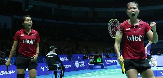 Bermain 78 Menit, Greysia/ Nitya ke Perempat Final Asia Badminton Championship 2016
