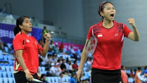Indonesia Kirim 2 Wakil ke Semifinal Badminton Asia Championship