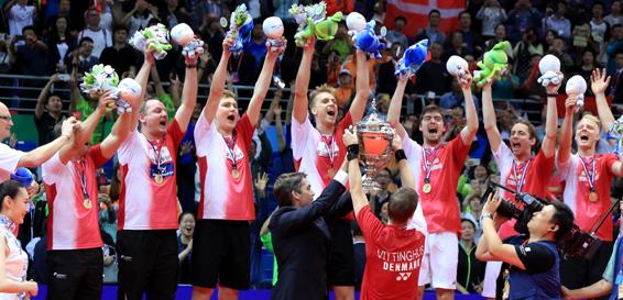 Denmark Raih Piala Thomas Pertama Kalinya, Indonesia Runner-Up