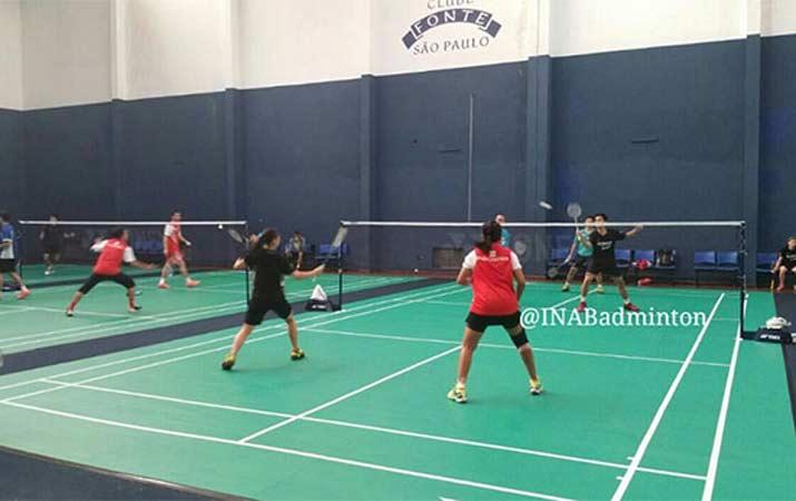 Tim Bulutangkis Indonesia Mulai Berlatih