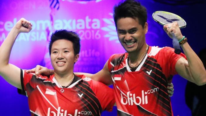 Tim Bulutangkis Indonesia Coba Lapangan Olimpiade