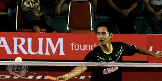 Davin Pradwissa [PB Bank Sumsel Babel] ke Final Sirnas Cirebon 2016