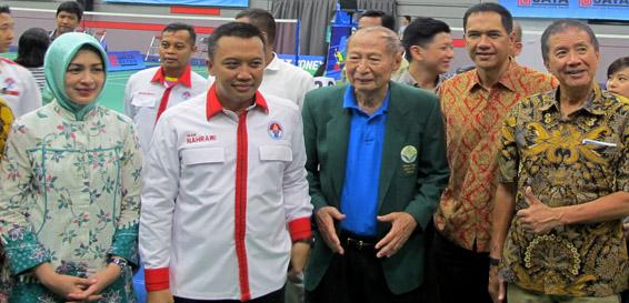 PB Jaya Raya Resmikan Gedung Olahraga Baru