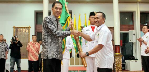 Pengurus PBSI Provinsi Sumatera Selatan Resmi Dilantik