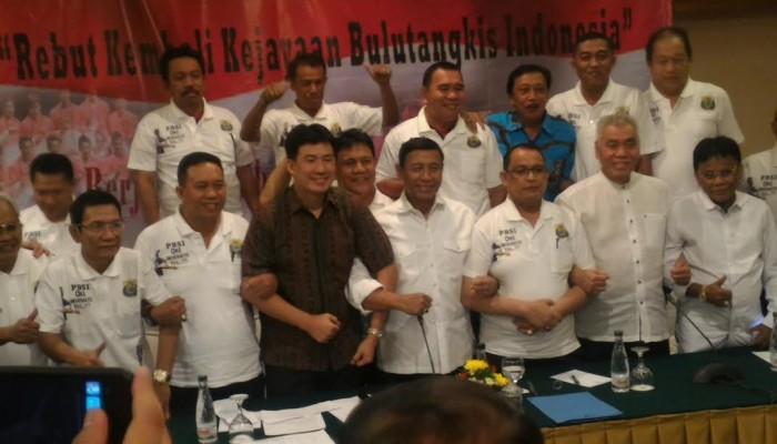 Deklarasi Wiranto Untuk Pencalonan Ketua Umum PBSI