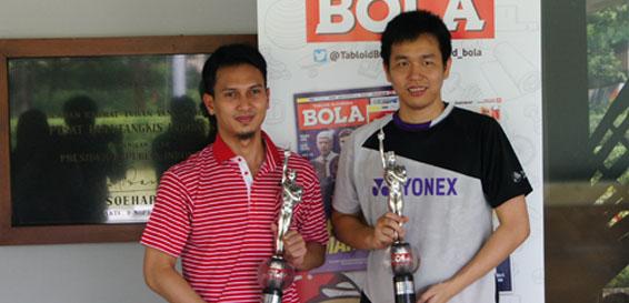 Hendra/Ahsan Raih Penghargaan Atlet Putra Terbaik 2015