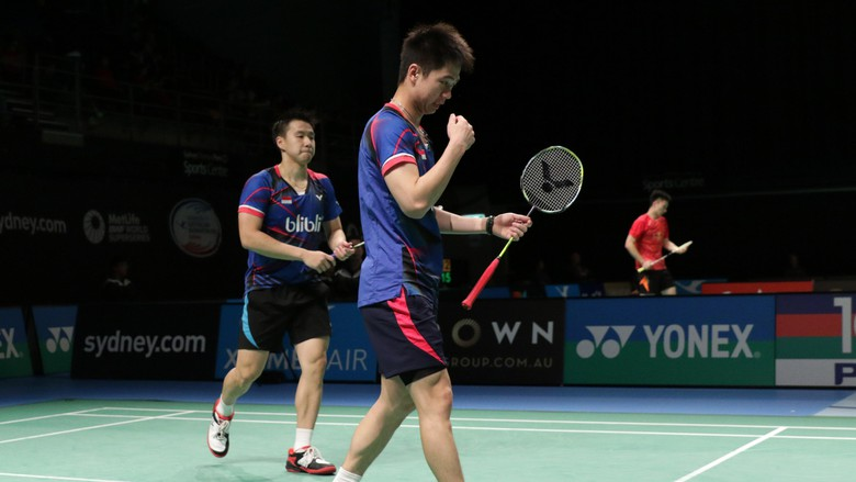 Singkirkan Unggulan Pertama, Kevin/Gideon Pastikan Tiket Final China Open SSP