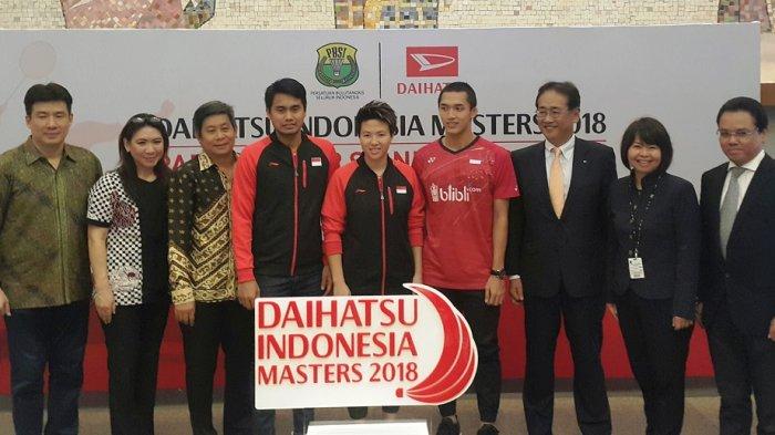 Daihatsu Indonesia Masters Digelar Januari 2018