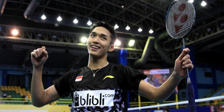Jonatan Christie Menjadi 'Top Score' Indonesia di Badminton Asia Team Championship 2018