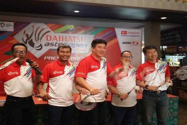 Turnamen Bulutangkis Daihatsu Astec Open 2018 Resmi Dibuka