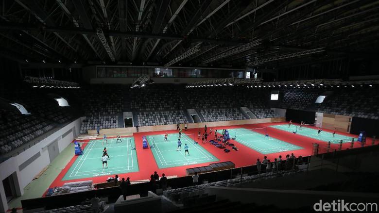 Istora Menjadi Venue Bulutangkis dan Basket di Asian Games, Harus Cermat Tata Lampu dan Lantai