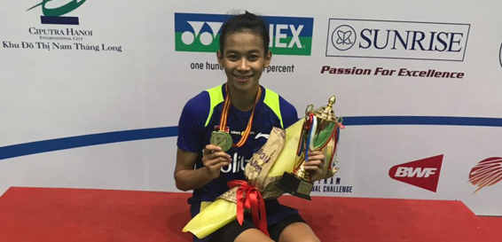 Dinar Bawa Pulang Gelar Juara dari Vietnam