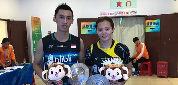 Ronald/Annisa Runner-Up China Masters 2018 image