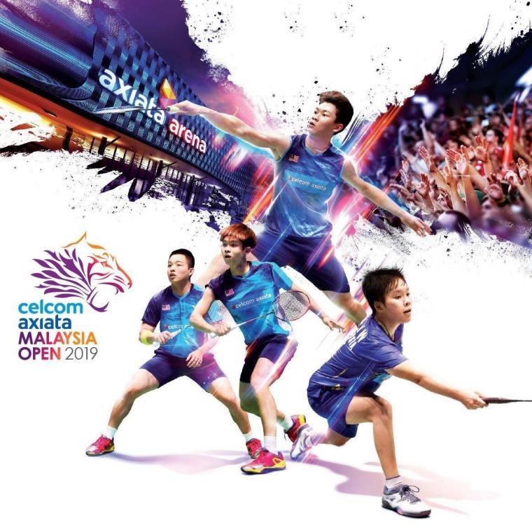 Jadwal Badminton Malaysia Open 2019 Siaran Langsung & Live Streaming TVRI