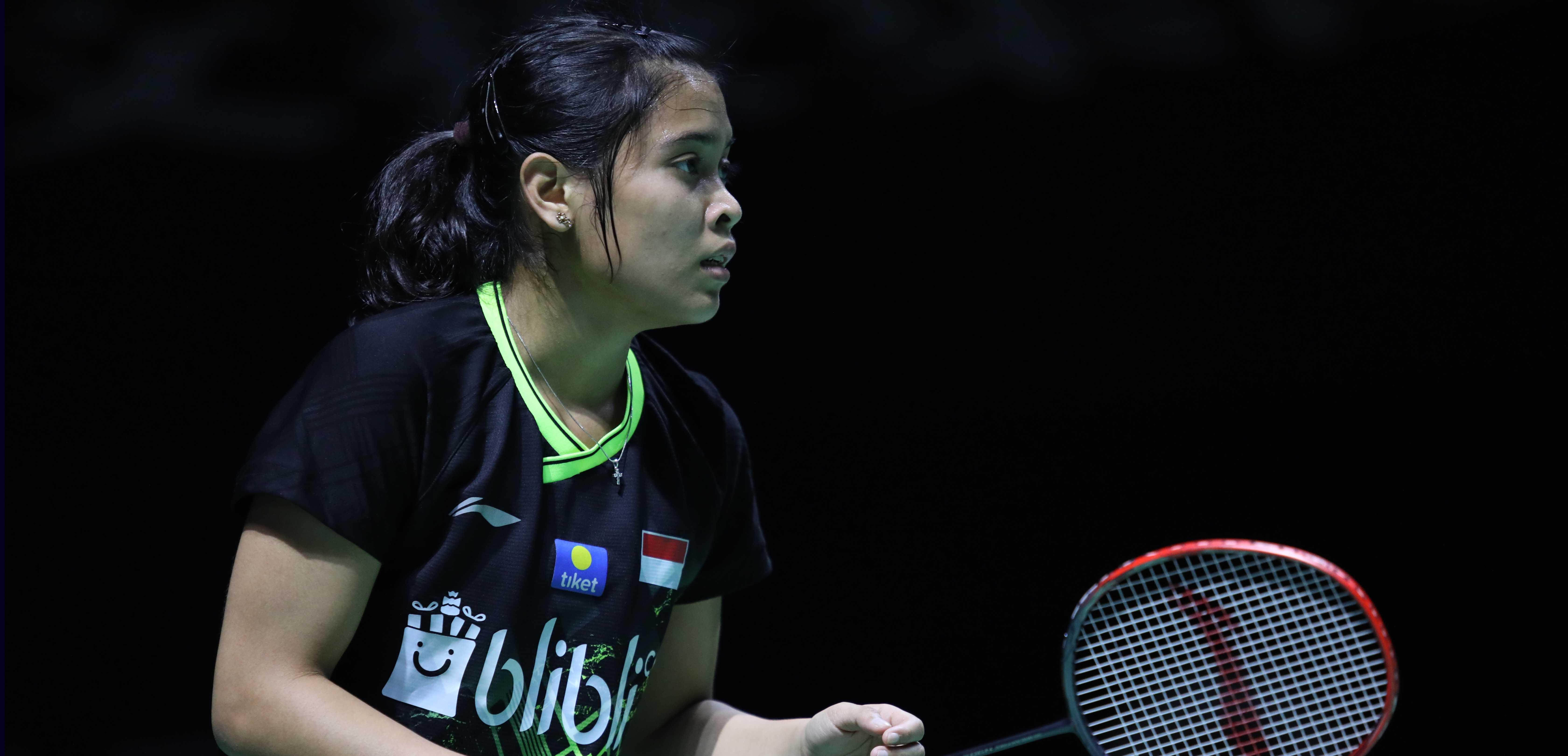 (Fuzhou China Open 2019) Gregoria Melaju, Fitriani Terhenti