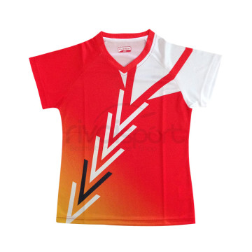 Baju Carlton AP 62110 Ladies (Red/Orange) image