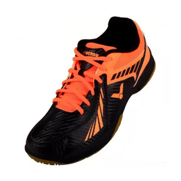 Sepatu Victor  AS-33 CO (Black/Orange) image
