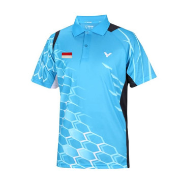 Baju Victor S-5004 M Player Team Indonesia image