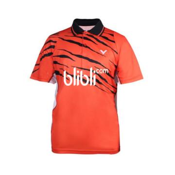 Baju Victor S-5513 O (Orange) Free Sablon image