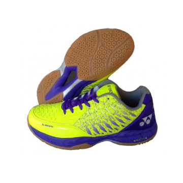 Sepatu Yonex Court Ace Matrix (Lime Green/Purple) image