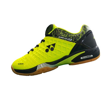 Sepatu Yonex Super Ace 03 (Black / Lime Green) image