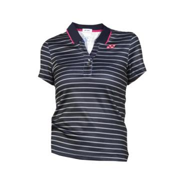 YONEX Women Polo Shirt Hitam Putih image