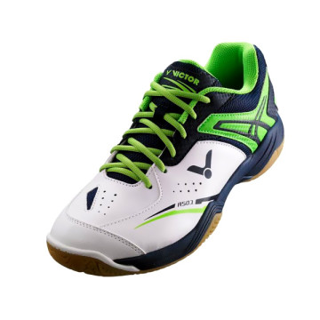 Sepatu Victor A 501 AG (Bright White/Fern Green)