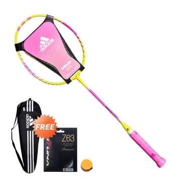 Adidas Badminton W 09 SMU New Spieler Yellow Pink image
