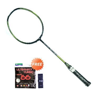 Fleet Racket FENCE SPEED + Senar Ultramax 66 + Grip Karet image