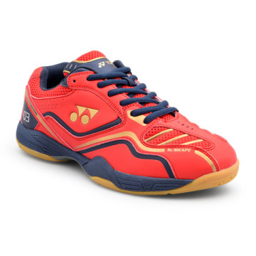 Sepatu Yonex All England 03 (Bright Red/Dark Violet/Matte Gold) image