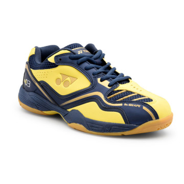 Sepatu Yonex All England 03 (Yellow/Navy/Matte Gold) image
